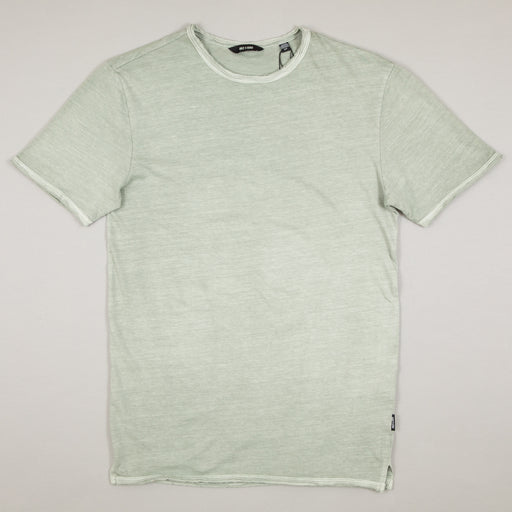 Albert Washed O-Neck Tee in SEAGRASSONLY AND SONS - CACTWS