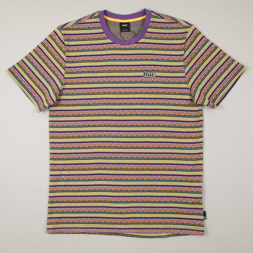 Allen Short Sleeve Knit Tee in GRAPEHUF - CACTWS
