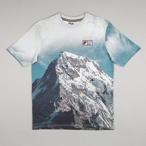 FILA Alps Printed T-Shirt in WHITE
