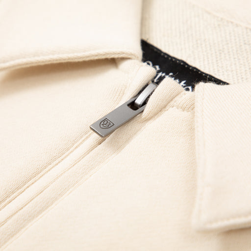 B-Shield 1/2 Zip Polo in CYPRESS & IVORYBRIXTON - CACTWS