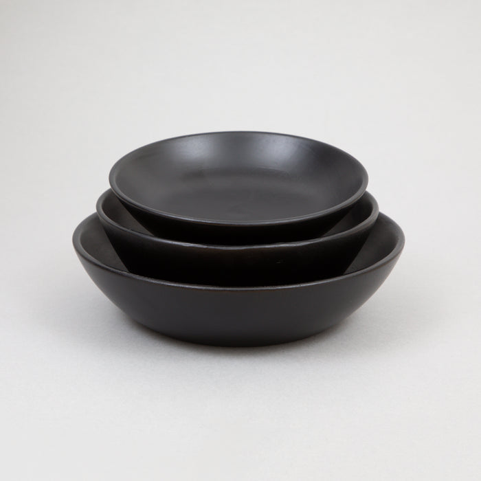 BEGORO Dishes Set of 3 in BLACK
