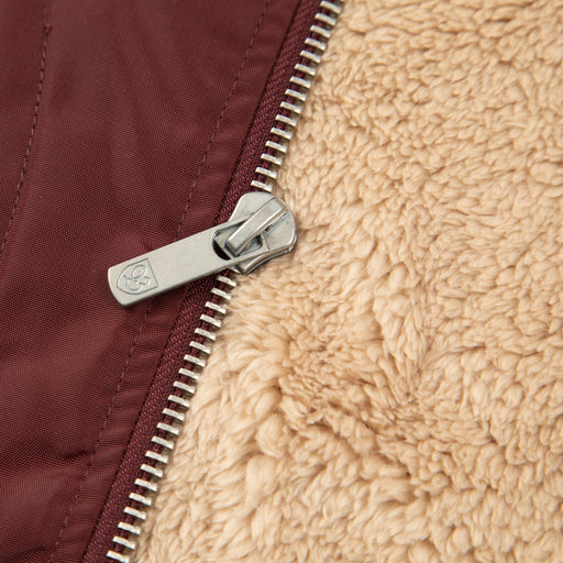 Claxton Collar Sherpa in PLUM