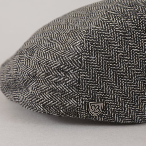 Hooligan Snap Cap in GREY & BLACK