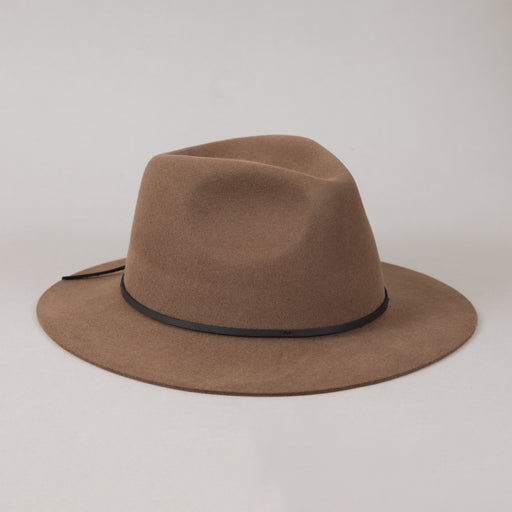 Wesley Fedora in BISON & BLACK