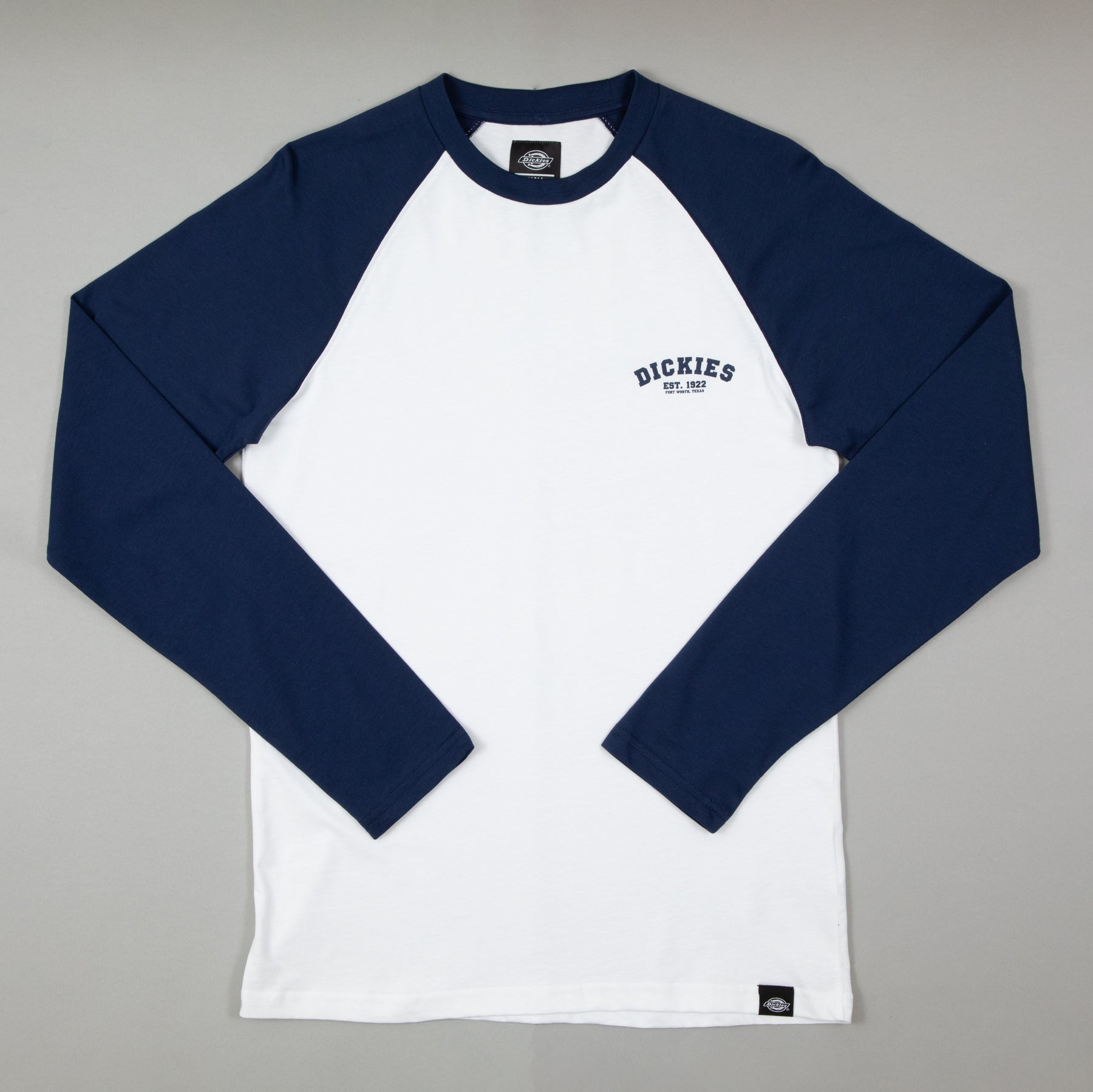 Baseball LS Raglan Tee in DARK NAVYDICKIES - CACTWS