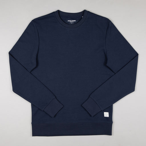 JACK & JONES Basic Sweat Crew Neck in NAVY BLAZER