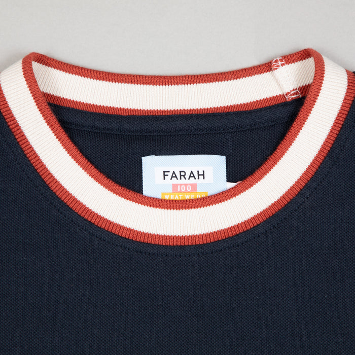 Birmingham Tee in TRUE NAVY