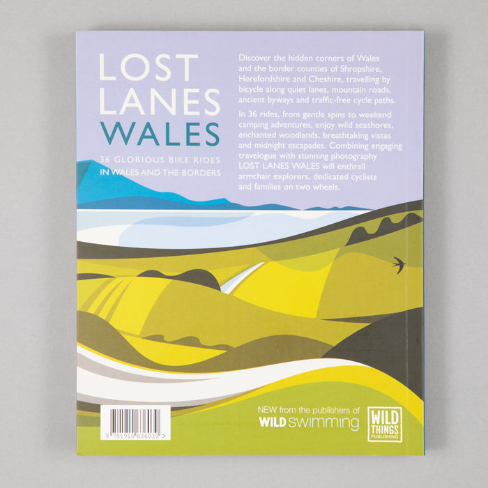 Book: Lost Lanes Wales (36 Glorious Bike Rides in Wales)