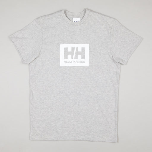 HELLY HANSEN Box T-Shirt in GREY MELANGE