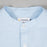 FARAH Brewer Slim Fit Long Sleeve Grandad in SKY BLUE