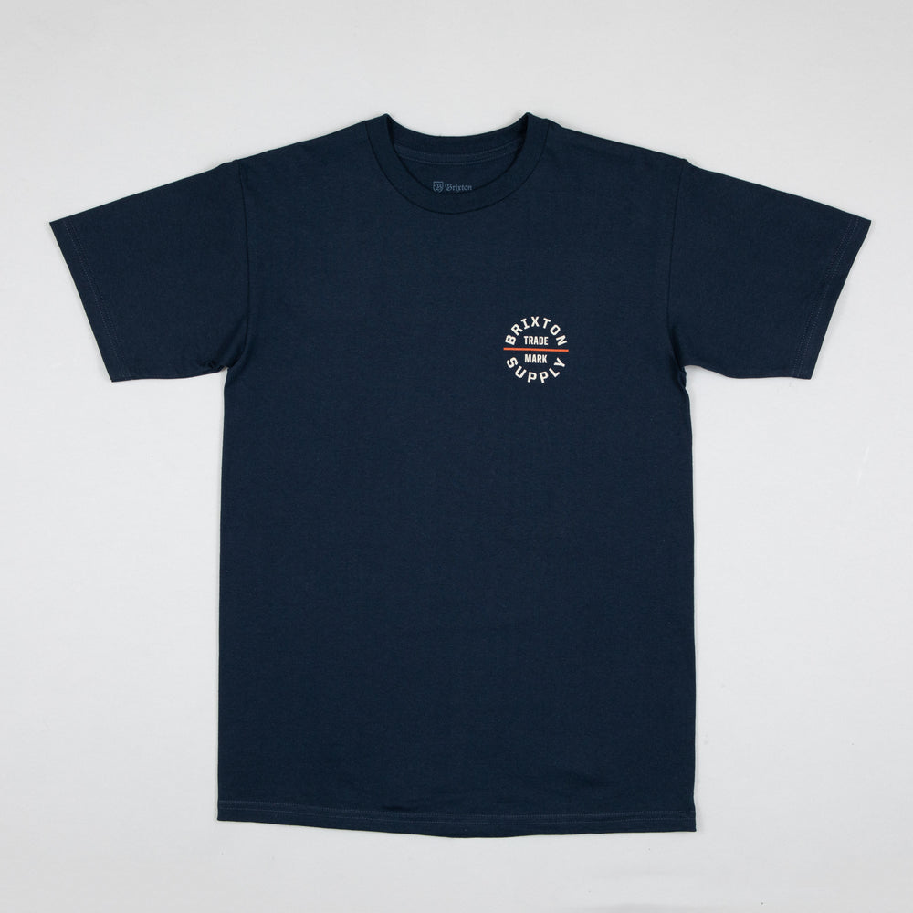 Oath V Short Sleeve Standard Tee in NAVY