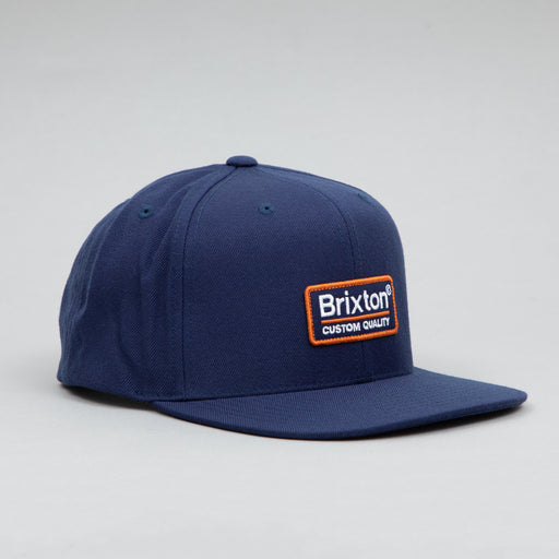 Palmer II MP Snapback Cap in WASHED NAVY