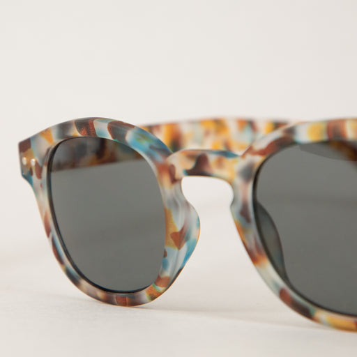 #C The Retro Sunglasses in BLUE TORTOISEIZIPIZI - CACTWS