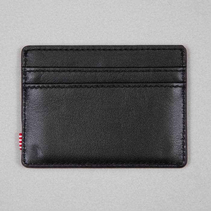 Charlie Leather Wallet in BLACK