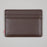 Charlie Leather Wallet in BROWN