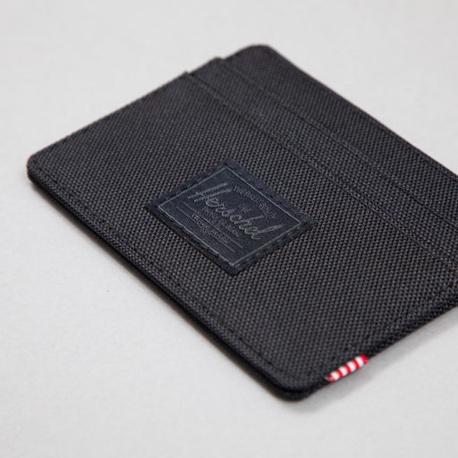 Charlie + Wallet in BLACK & BLACK