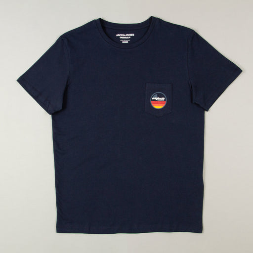 Cleever Tee in NAVY BLAZERJACK & JONES - CACTWS