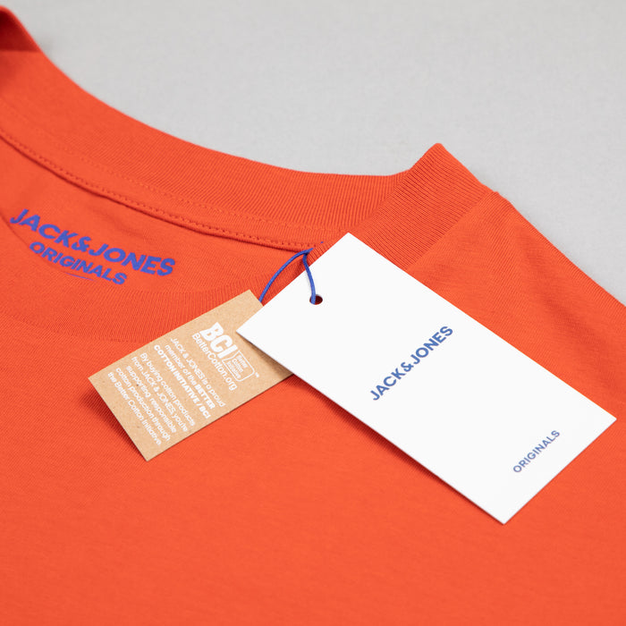 Copenhagen Tee in BURNT OCHRE