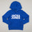 JUNIOR Corp Logo Sweat Boys Hood in SURF THE WEB BLUEJACK & JONES JUNIOR - CACTWS
