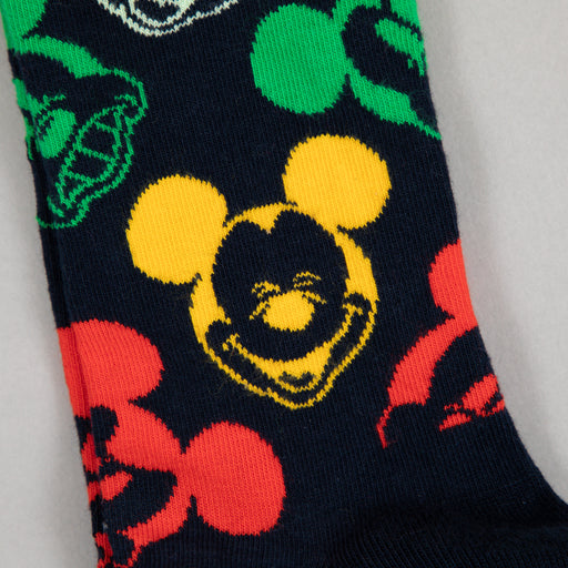 DISNEY Colorful Character Socks in BLACK & MULTICOLORED