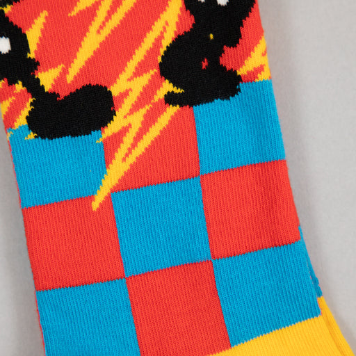 HAPPY SOCKS x DISNEY Mickey-Time Socks in RED, YELLOW & BLUE