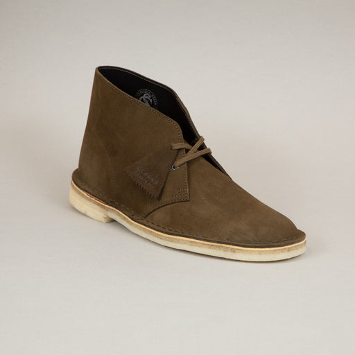 Desert Boot in DARK OLIVE SUEDECLARKS ORIGINALS - CACTWS