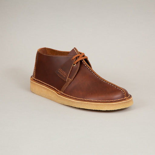 Desert Trek Shoes in TAN LEATHERCLARKS ORIGINALS - CACTWS