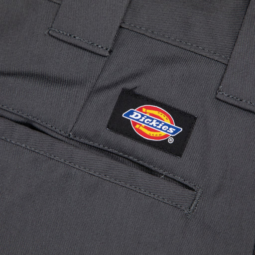 DICKIES 873 Slim Straight Work Chino Pants in CHARCOAL GREY