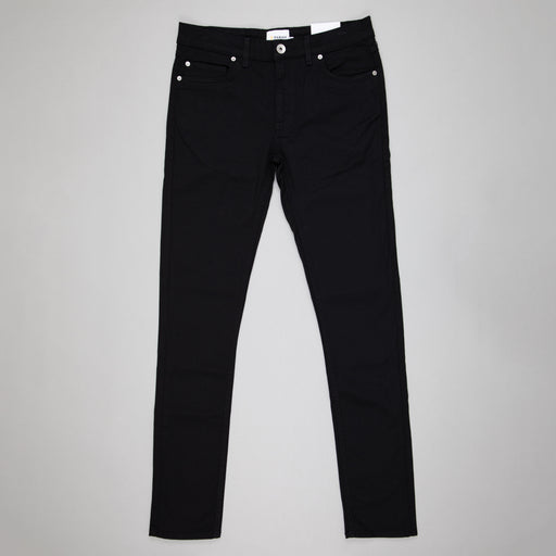 FARAH Drake Clean Twill Trousers in BLACK