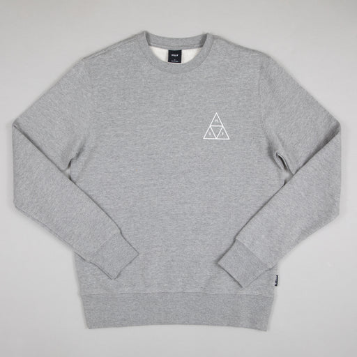 Essentials TT Crew Sweat in GREY HEATHER