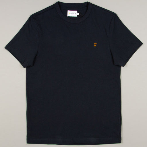 Dennis Slim T-Shirt in TRUE NAVYFARAH - CACTWS