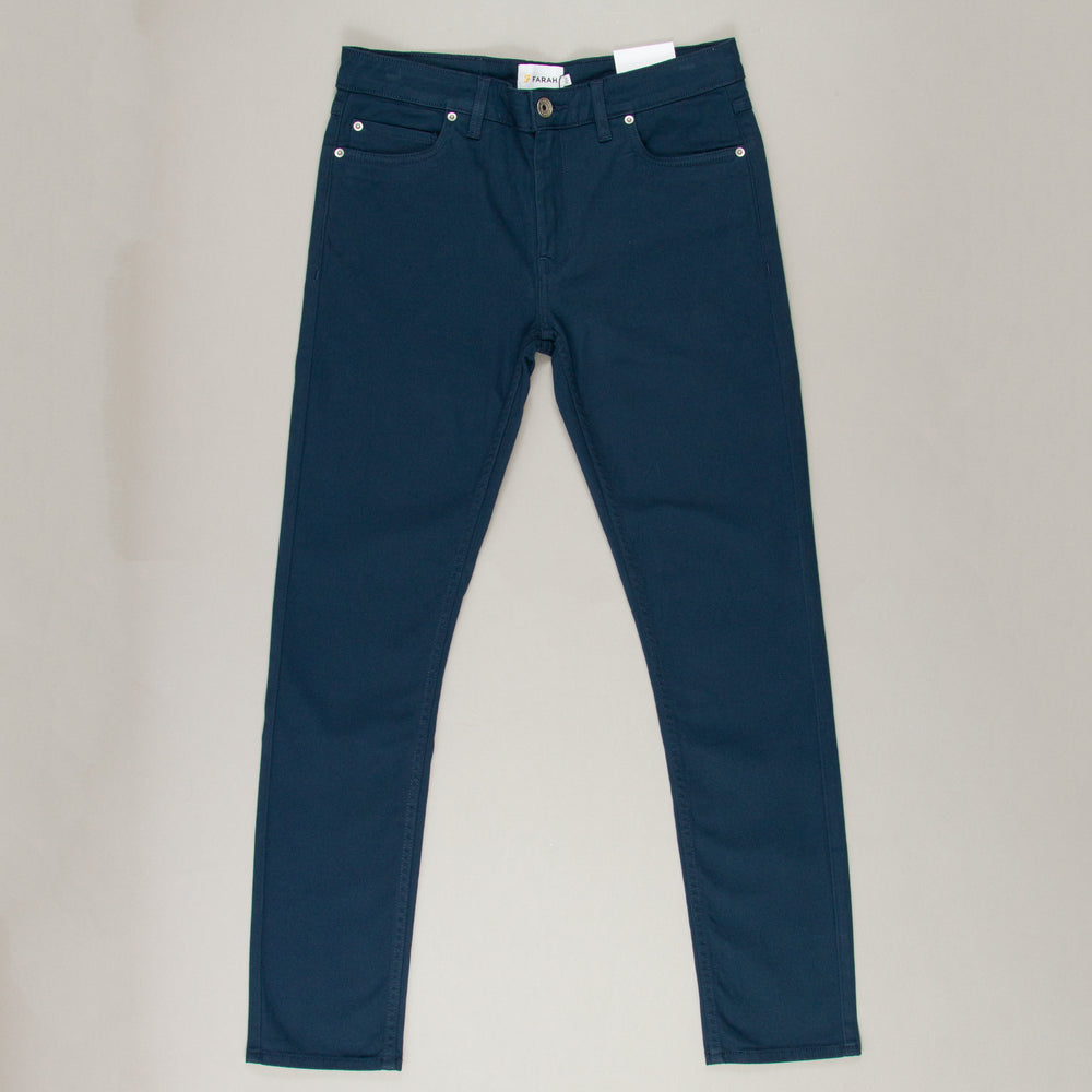 Drake Twill Trousers in FARAH TEALFARAH - CACTWS
