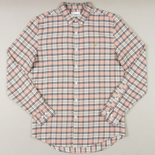 McCaslin Long Sleeve Check Shirt in BLUSH