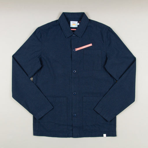 Frio Canvas Overshirt in YALE