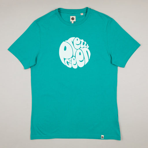 Gillespie Logo Print T-Shirt in GREENPRETTY GREEN - CACTWS