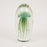 Light & Living Glass Jellyfish Large Paperweight Ornament in GREEN
