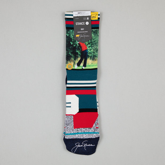 Golf Golden Bear 2 Crew Socks in BLUE