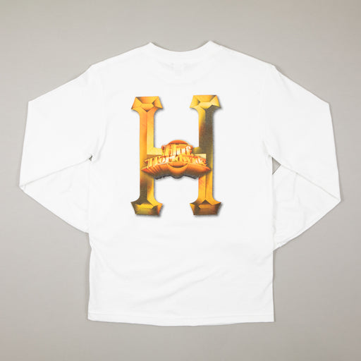 Greatest Hits Long Sleeve T-Shirt in WHITEHUF - CACTWS