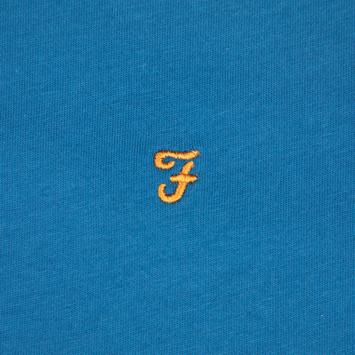Groves Ringer Tee in FARAH BLUE