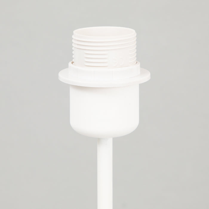 LIGHT & LIVING HOUSTON Table Lamp Base in MATT WHITE