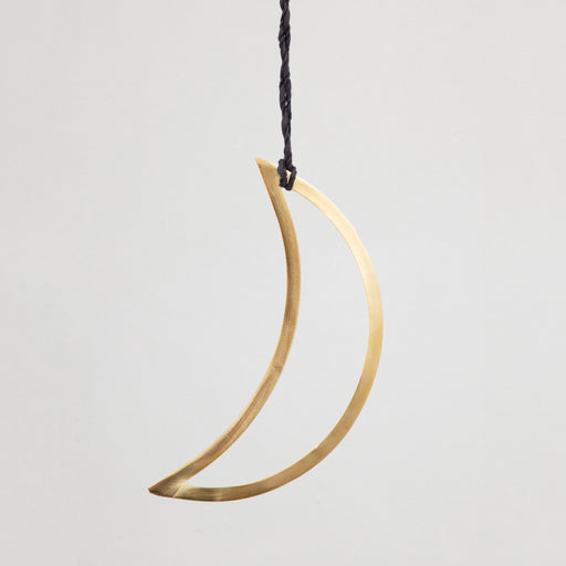 Half Moon Hanging Decoration in GOLD