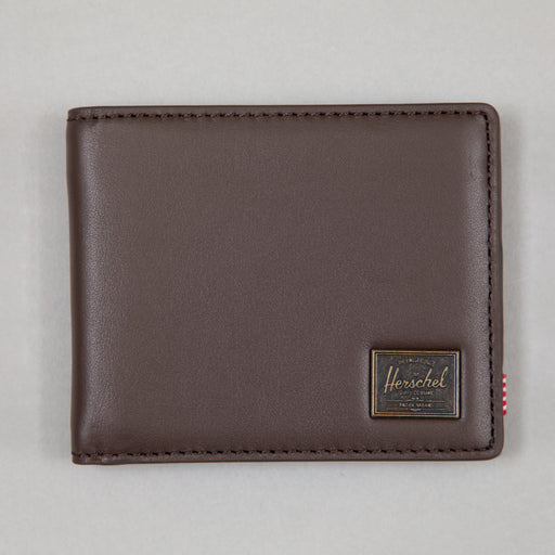 Hank Leather Wallet in BROWN