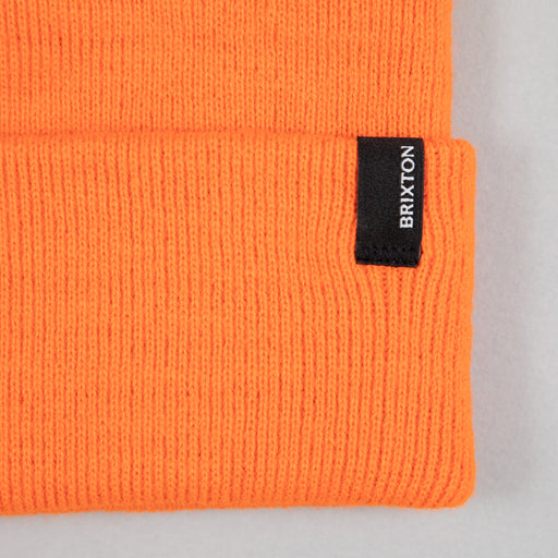 BRIXTON Harbor Watch Cap Beanie in ATHLETIC ORANGE