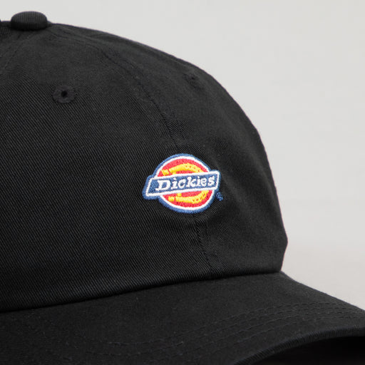 DICKIES Hardwick 6 Panel Unisex Baseball Cap in BLACK