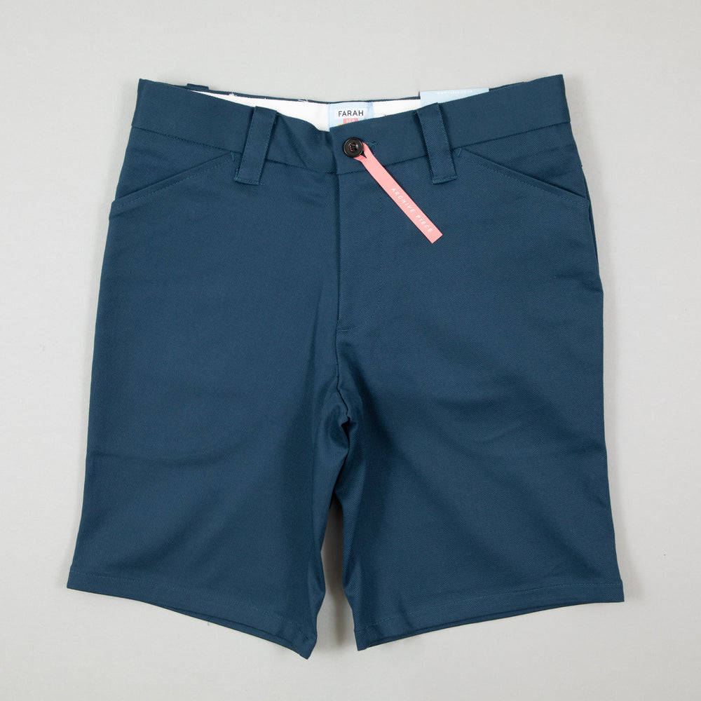 Hawk Original Twill Chino Shorts in FARAH TEALFARAH - CACTWS
