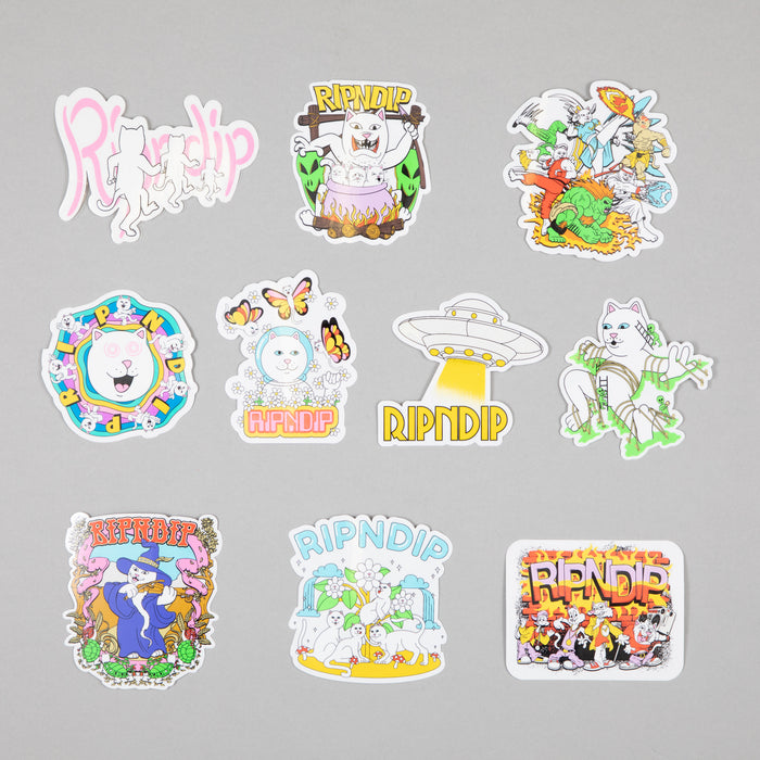 Holiday Sticker Pack (10 Stickers)