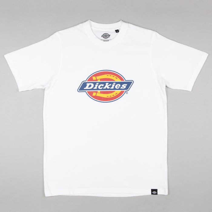 DICKIES Horseshoe Short Sleeve T-Shirt in WHITE