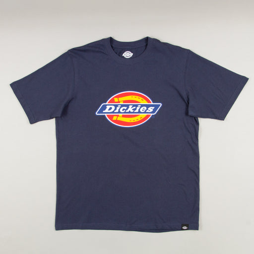 Horseshoe Short Sleeve T-Shirt in NAVY BLUEDICKIES - CACTWS