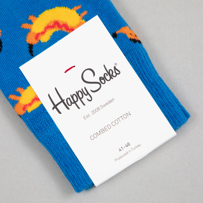 Hot Dog Socks in BLUE