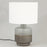 IRURA Lamp Base in SILVER GREY